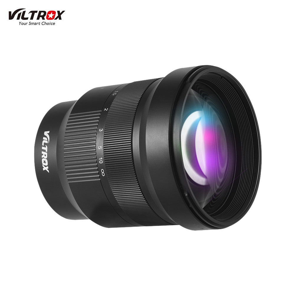 Viltrox PFU RBMH 85mm F1.8 Large Aperture Full Frame Manual Focus Prime Lens Fixed Focus Lens for Sony E-Mount Camera NEX-5N A9 A7M3 A7R2 A7M3 A7M2 A7SS A6500 A6300 A6000 A5000