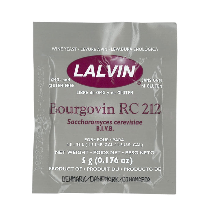 Additives | Yeast | Wine Lalvin RC-212 (EA)