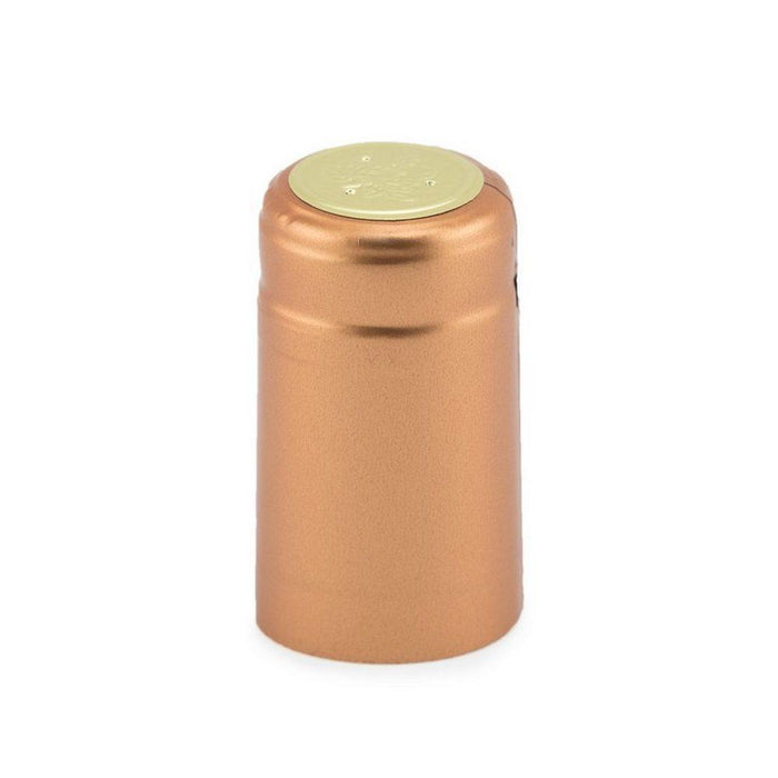 Shrink Cap | Metallic Copper (PK100)