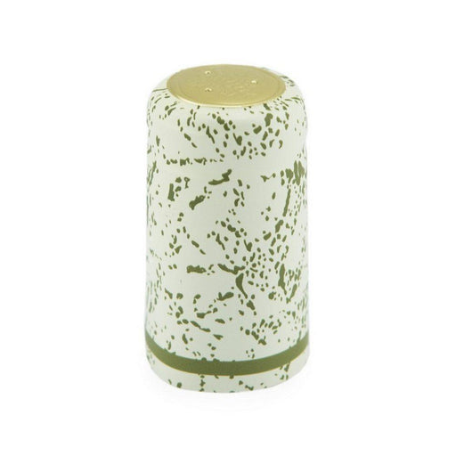 Shrink Cap | Almond/Green Speckles (PK100)*
