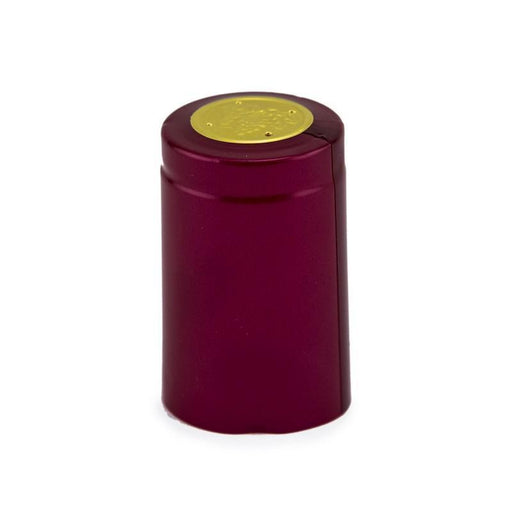Shrink Cap | Burgundy (Large) (PK100)