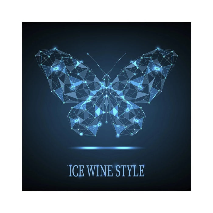 Labels | Ice Wine Style Butterfly Dots and Lines (RL500)