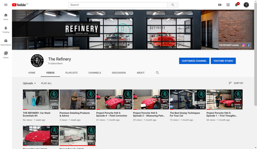 THE REFINERY is on YouTube!