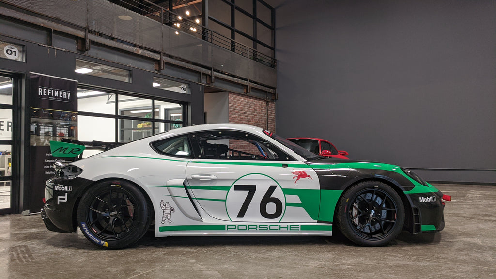 Porsche GT4 Clubsport MR completed by The Refinery Toronto