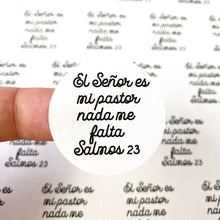 "Load image into Gallery viewer, Packaging Stickers | #SP0026 - SALMOS 23 - ""PSALMS 23"""