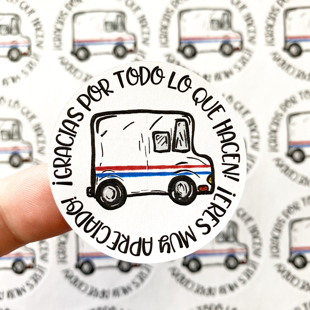 Packaging Stickers | #SP0030 - GRACIAS USPS -