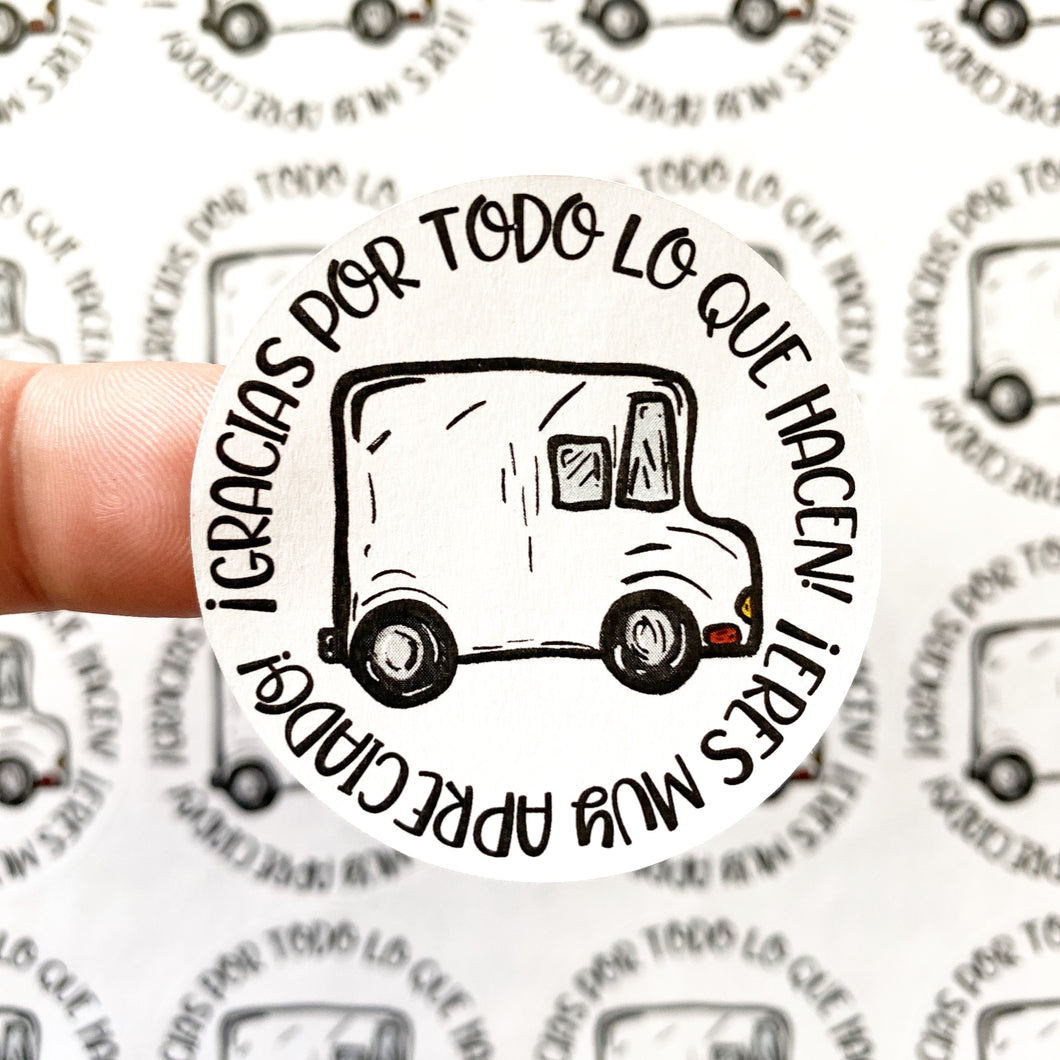 Packaging Stickers | #SP0032 - GRACIAS FEDEX -