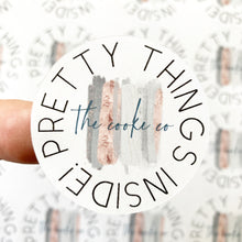 Load image into Gallery viewer, Custom Packaging Stickers | Customizable: #0018 - Pretty Things Inside