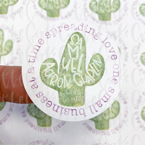 Packaging Stickers | #C0201 - SPREADING LOVE ONE SMALL BUSINESS AT A TIME