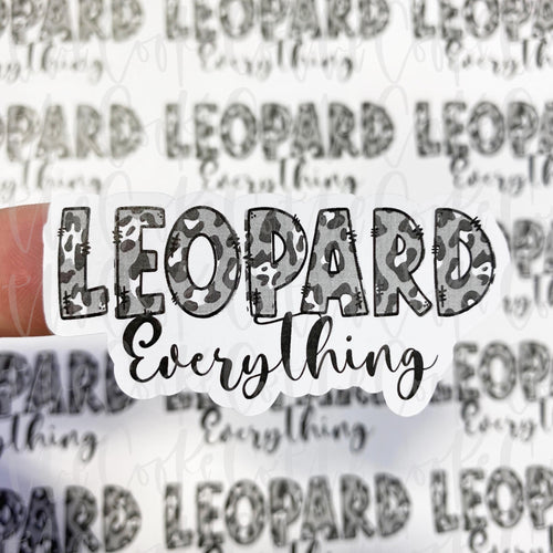 Packaging Stickers | #C0251 - LEOPARD EVERYTHING