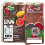 Pulpa de Guava (Guayaba) - Guava Pulp Fruit (4 Pieces=)