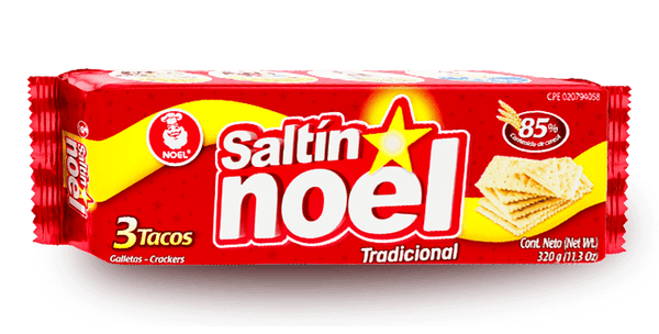 Galletas Saltin Noel 3 Tacos - 300g (Crackers)