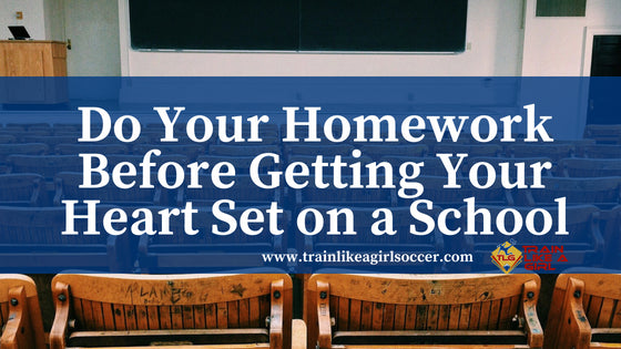 Do Your Homework Before Getting Your Heart Set on a School