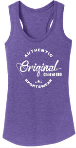 "Women's ""Original Child Of God"" Racerback tank"
