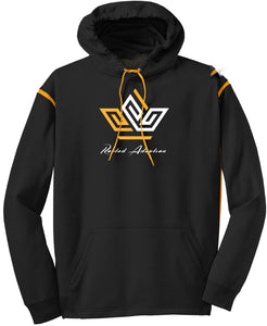 "Rooted Adoption ""Crown"" Dual Color Fleece Hoodie"