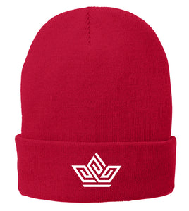 "Rooted Adoption ""Crown"" Fleece-Lined Winter Hat"