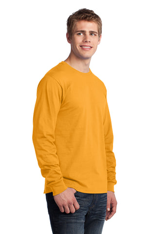 Port & Co Long Sleeve Cotton Tee