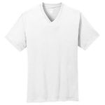 Port & Co Cotton V-Neck Tee