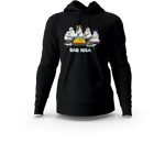 Snowman Bad Idea Black Hoodie