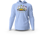Snowman Bad Idea Light Blue Hoodie