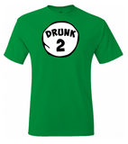 2 Pack - Drunk #1 and Drunk #2 T-Shirts