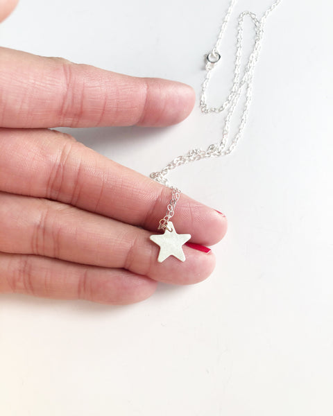 Star ⭐️ necklace - sterling silver