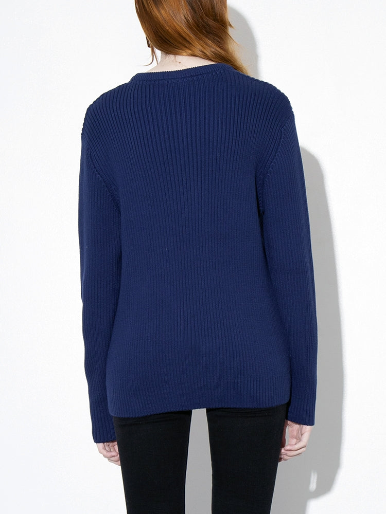 Load image into Gallery viewer, Oak Mercer Sweater in Midnight