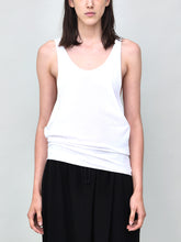 Load image into Gallery viewer, Oak Side Cowl Tank in White