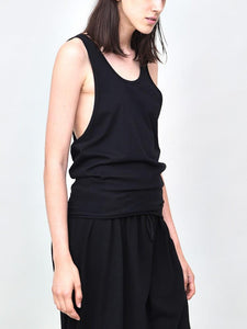 Side Cowl Tank in Black by Oak