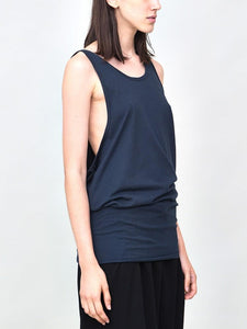 Side Cowl Long Tank in Dusk by Oak
