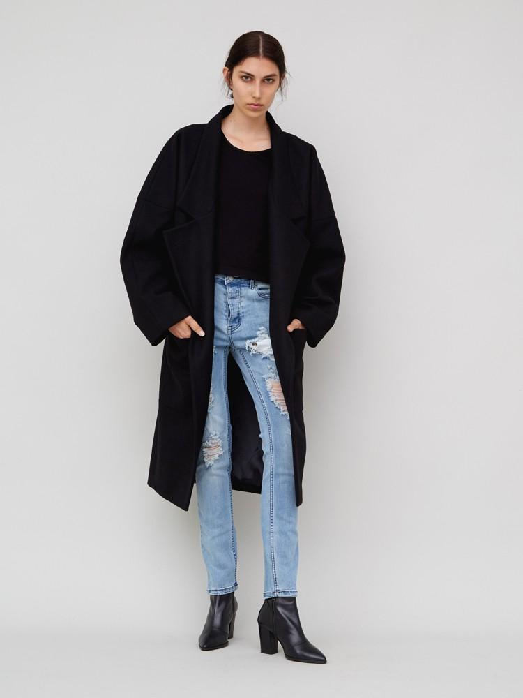Slouch Skinny Destroyed Jean