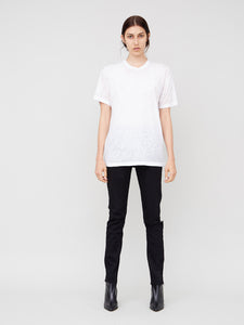 Acid Neck Crew in White by OAK in White by Oak OOS