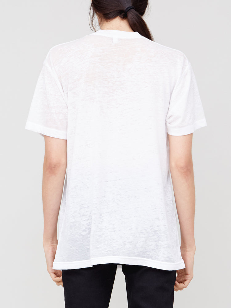 Load image into Gallery viewer, Acid Neck Crew in White by OAK