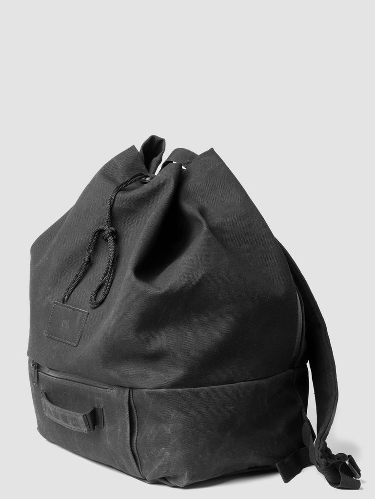 Oak Throop Backpack in Black by Oak