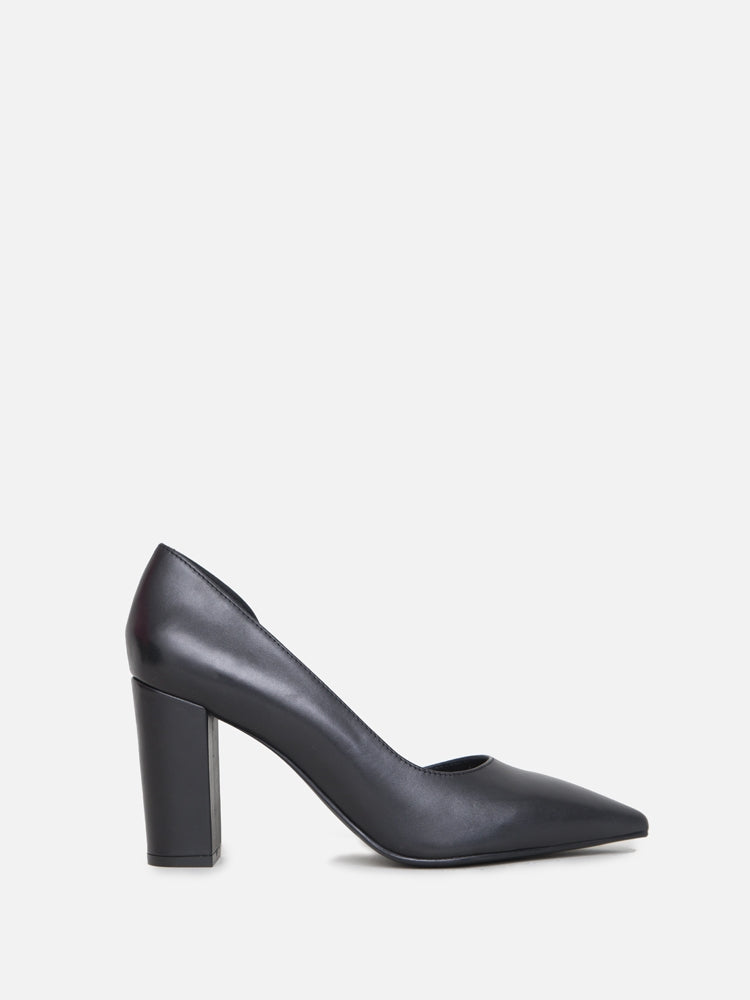 Oak Dahill Heel in Black by Oak