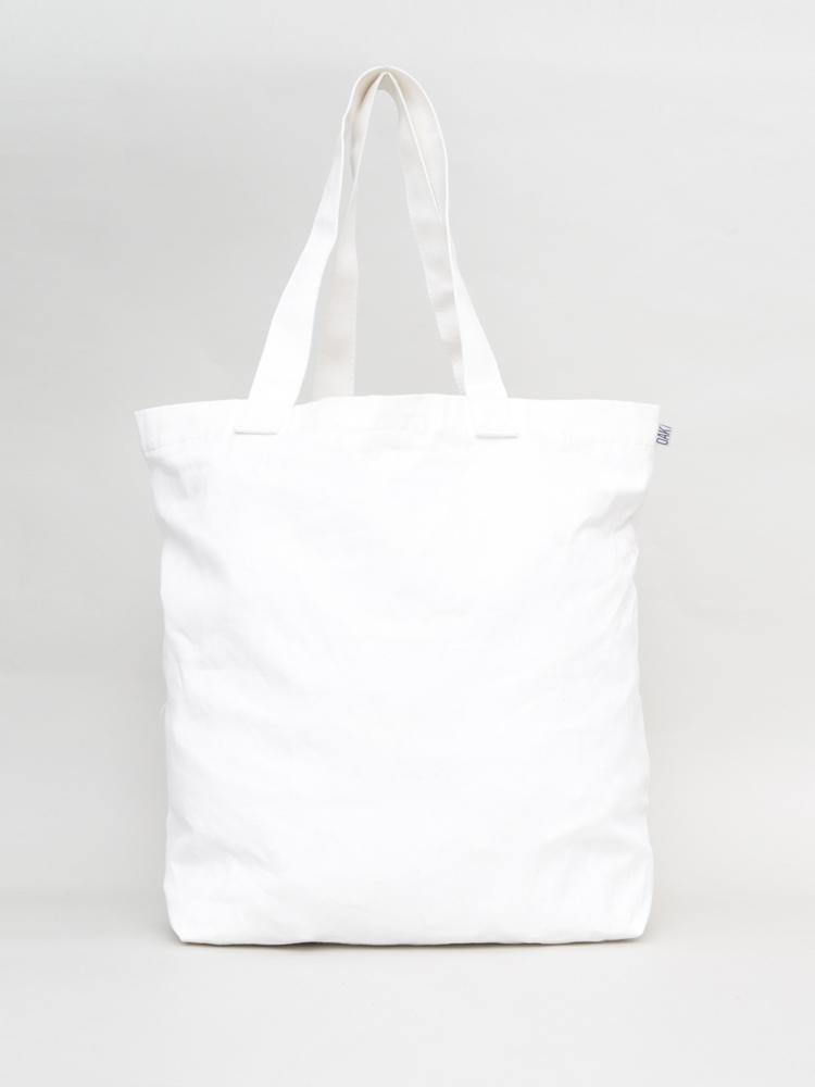 Hull Tote in White by Oak