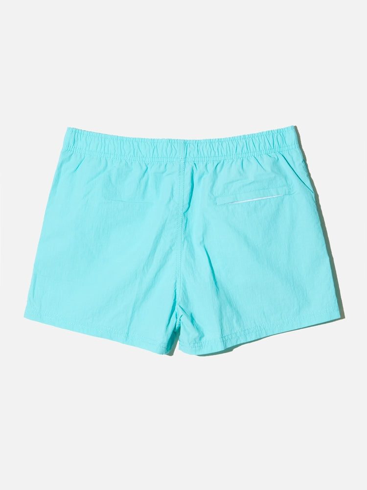 Load image into Gallery viewer, Cropped Swim Short in Sea by Oak