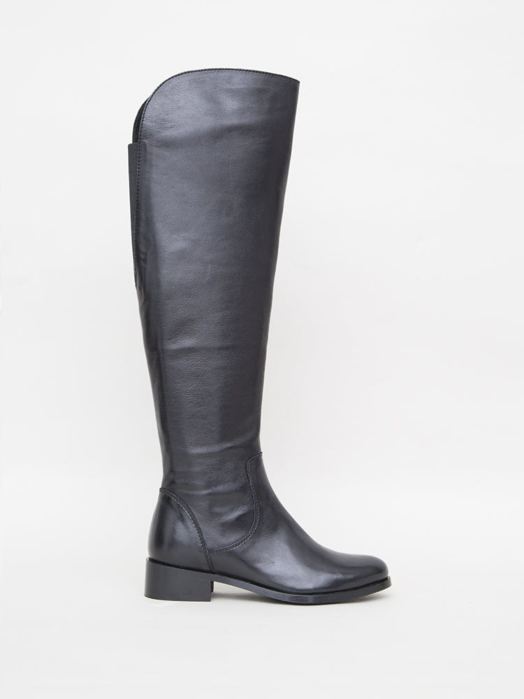 Linden Boot in Black Leather by Oak in Black Leather by Oak