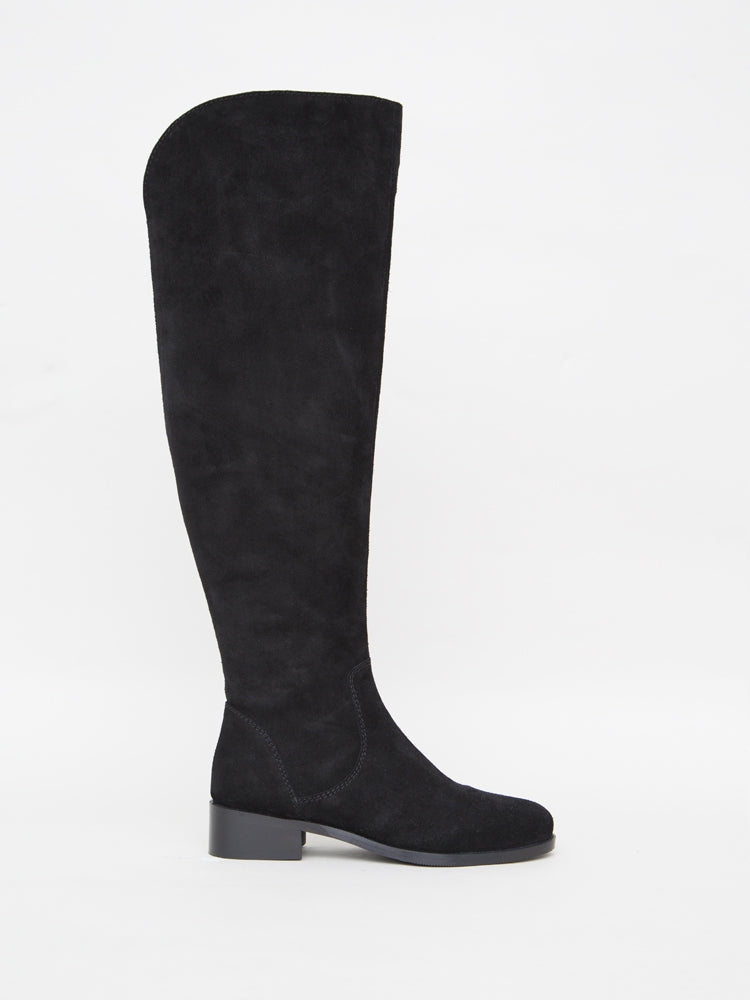 Load image into Gallery viewer, Linden Boot in Black Suede by Oak