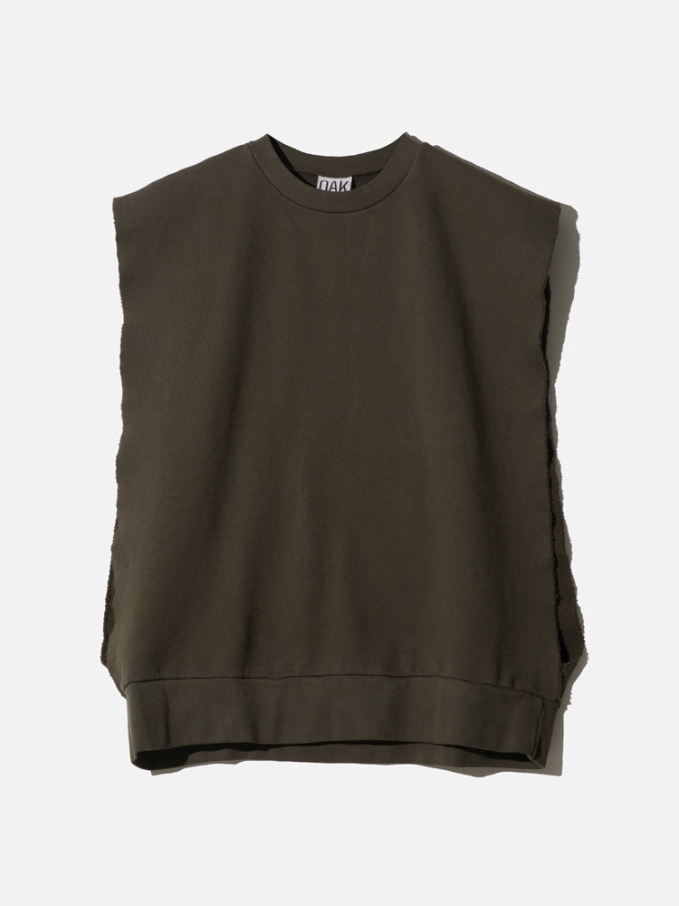 Load image into Gallery viewer, Sideless Pullover in Fatigue by OAK