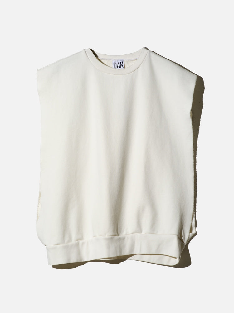Load image into Gallery viewer, Sideless Pullover in Chalk by OAK