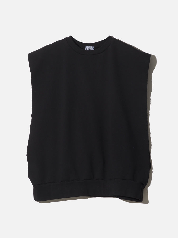 Load image into Gallery viewer, Sideless Pullover in Black by OAK
