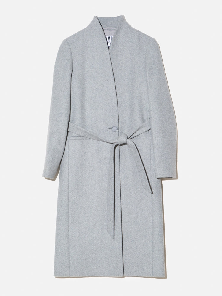 Load image into Gallery viewer, Oak Tailored Overcoat in Grey