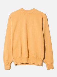 Oak Standard Crew Sweatshirt in Camel in Camel by Oak OOS