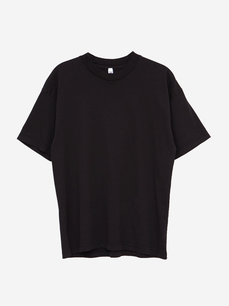 Load image into Gallery viewer, Oak Mock Neck Tee in Black