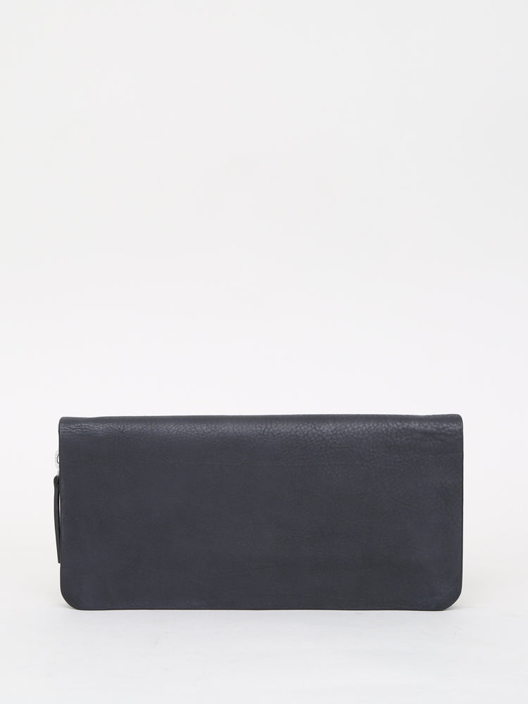 Oak Stagg Large Wallet in Black