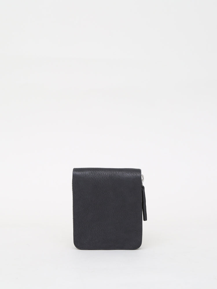Oak Skillman Wallet in Black in Black by Oak