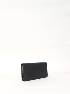 Oak Stagg Large Wallet in Black in Black by Oak