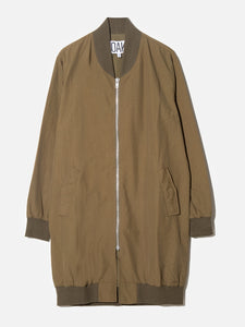 Long Zip Bomber in Fatigue by OAK in Fatigue by Oak
