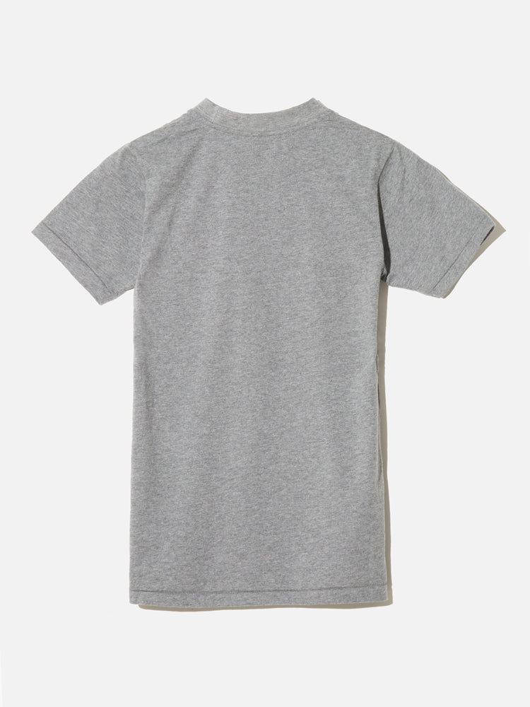Load image into Gallery viewer, Oak Tight Crew Tee In Heather Grey
